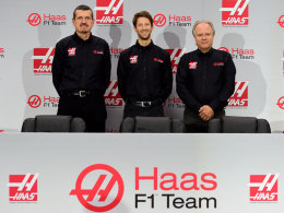 Neues Formel-1-Team Haas holt Grosjean als Fahrer