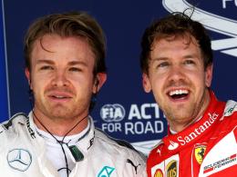 Rosberg und Vettel er�ffnen Kampf f�r 2016