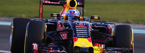 """Red Bull fährt weiter mit Renault-Motoren, die künftig aber den Namen """"TAG Heuer power unit"""" tragen."""