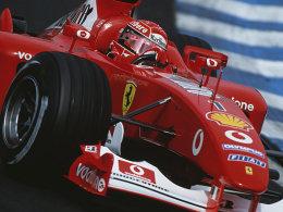 Präsentation über den siebenmaligen Formel-1-Weltmeister Michael Schumacher.