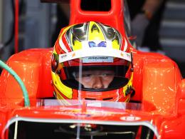 Erster Indonesier mit Stammcockpit in der Formel 1: Manor-Pilot Rio Haryanto.