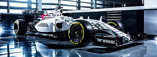 Der neue FW38: Williams will den dritten Platz in der Konstrukteurs-WM verteidigen.