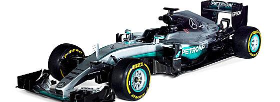 Der neue Mercedes F1 W07.