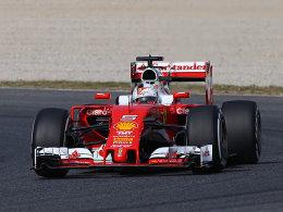 Vettel auch am Dienstagvormittag der Schnellste