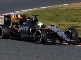 Nico Hülkenberg im Force India