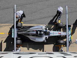 In Barcelona im Blickpunkt: Nico Rosberg.