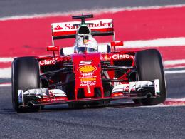 Peilt seinen fünften WM-Titel an: Ferrari-Pilot Sebastian Vettel.