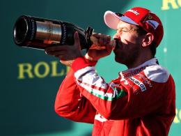 War lange auf Siegkurs in Australien: Ferrari-Pilot Sebastian Vettel.