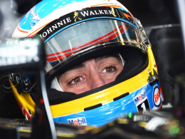 Alonso nach schwerem Crash wieder erholt