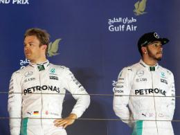 Hamilton erinnert an Ali - Rosbergs Titel-Tabu