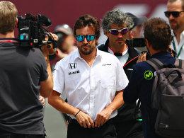Alonso: Vorl�ufige Starterlaubnis