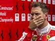 """Aus in Runde eins: Ferrari-Pilot Sebastian Vettel wurde von Daniil Kvyat """"abgeschossen""""."""