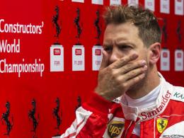 Vettel flucht: