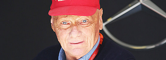 M�chte fix mit Nico Rosberg verl�ngern: Niki Lauda, Aufsichtsratschef des Mercedes-Rennstalls.