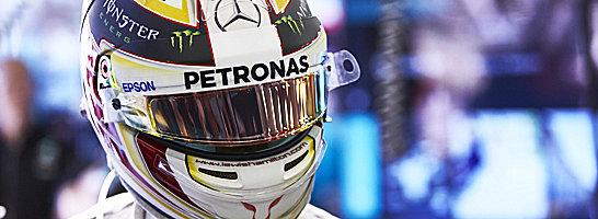 Durfte vom Team keine Hilfe bekommen: Weltmeister Lewis Hamilton.