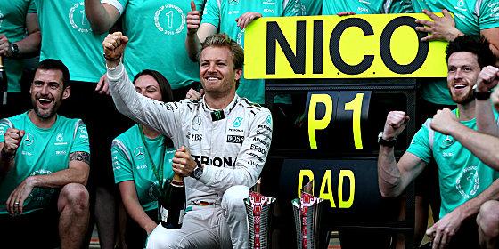 Zuletzt Sieger in Baku, auch f�r Spielberg rechnet sich Nico Rosberg einiges aus.