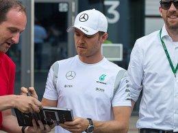 Mercedes und Rosberg: Nur die Unterschrift fehlt