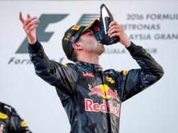 Schampus im Schuh: Ricciardo endlich wieder im Glück