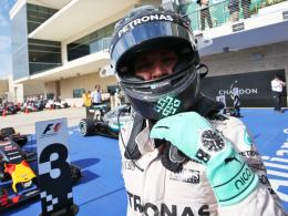 Rosberg hat in Mexiko den ersten Matchball