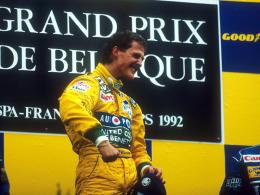 25 Jahre: Michael Schumachers Sieg-Jubiläum