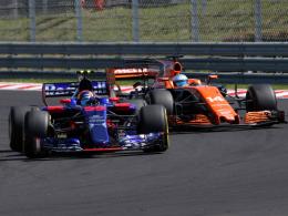 McLaren und Toro Rosso wechseln Motorenpartner
