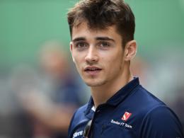 Sauber ersetzt Wehrlein durch Leclerc