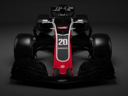 Haas zeigt den neuen VF-18