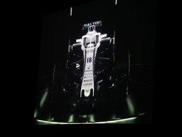 Halo ganz in Weiß: Williams enthüllt neuen FW41