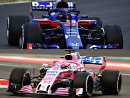 Vorhang auf für Toro Rosso und Force India