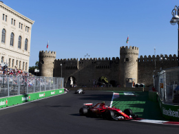 Baku City Circuit: Vollgas an der Promenade