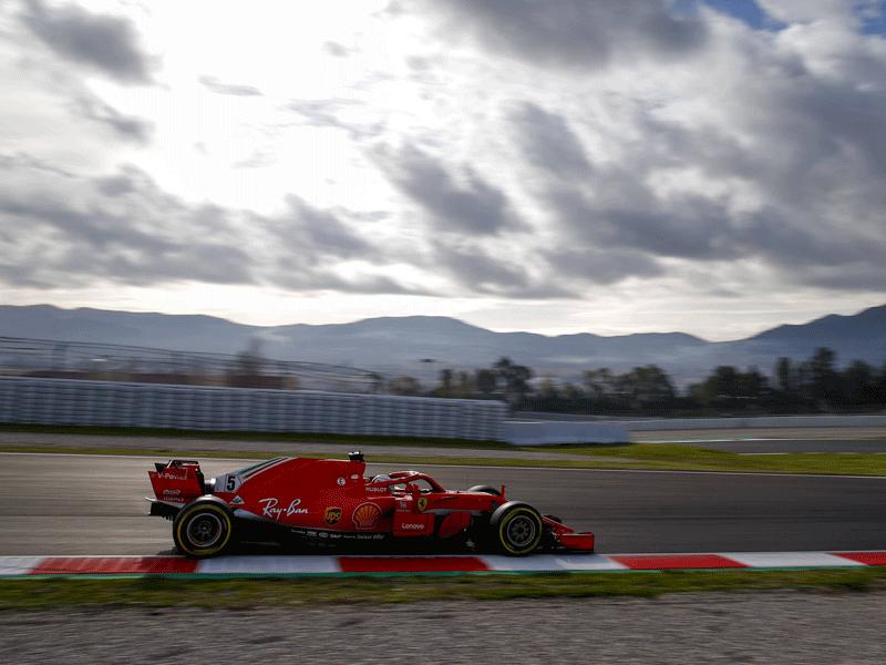 Bottas im ersten Montmelo-Training vor Hamilton und Vettel