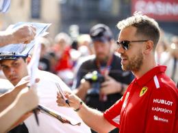 Vettel unsicher vor Hatz am Hafen - Hamiltons Vorfreude