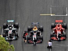 Dreikampf: Auf Hamilton-Bühne ohne Ricciardo?
