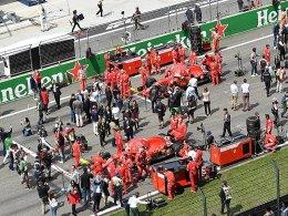 10-Minuten-Zusatz: Vettel und Co. müssen eher antreten