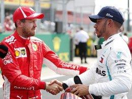 Vettel jetzt auf Augenhöhe mit Hamilton
