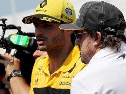 Folgt Sainz auf Alonso?