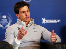 Mercedes macht's spannend: Rosberg-Ersatz erst 2017