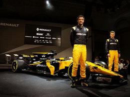 Renault stellt neuen Hülkenberg-Wagen vor