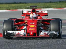 Ferrari-Pilot Vettel eröffnet mit Bestzeit