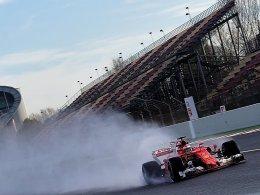 Ferrari macht Druck: Räikkönen beendet Tests mit Bestzeit