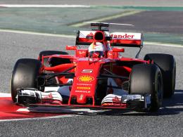 Ferrari beeindruckt die Konkurrenz