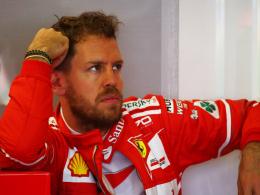 Vettel und Ferrari müssen tüfteln