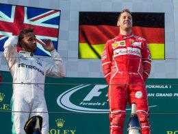 Vettel weckt Hamiltons Jagdinstinkt
