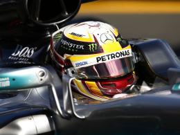 Hamiltons Warmup für Vettel-Attacke