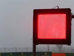 Dichter Nebel stoppt Formel 1 in Shanghai