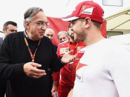 Ferrari-Chef Marchionne ist stolz - Vettel mahnt