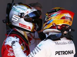 Vettel gegen Hamilton - ein Duell für die Geschichte