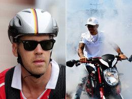 Vettel und Hamilton im WM-Zweikampf