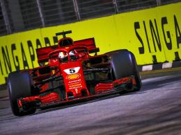 Vettel: Kein böses Wort trotz wiederholter Ferrari-Fehler