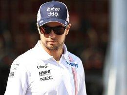 Neuer Vertrag: Perez bleibt bei Force India